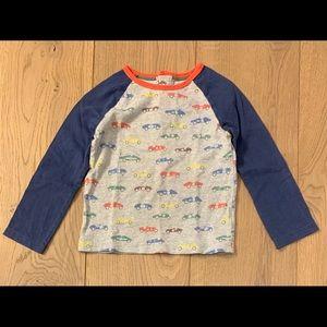 Baby Boden Car Raglan Shirt